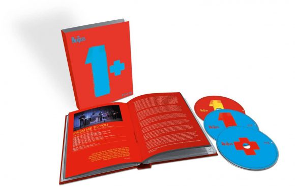 The Beatles - 1+ CD/Blu-ray deluxe edition artwork (2015)