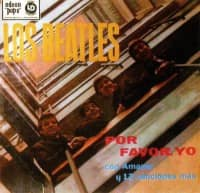 Por Favor, Yo (Please Please Me) album artwork - Uruguay