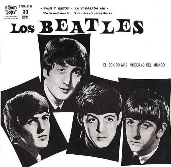 Twist And Shout single artwork - Argentina