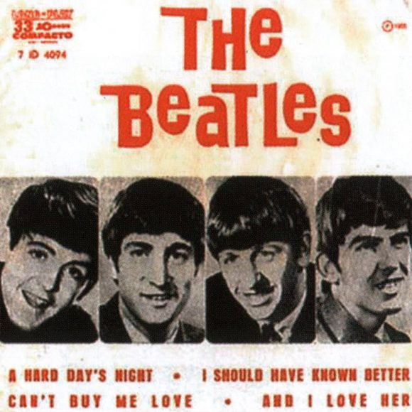 A Hard Day's Night EP artwork - Brazil
