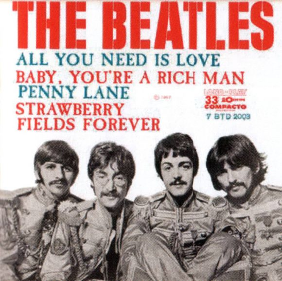 All You Need Is Love EP artwork - Brazil