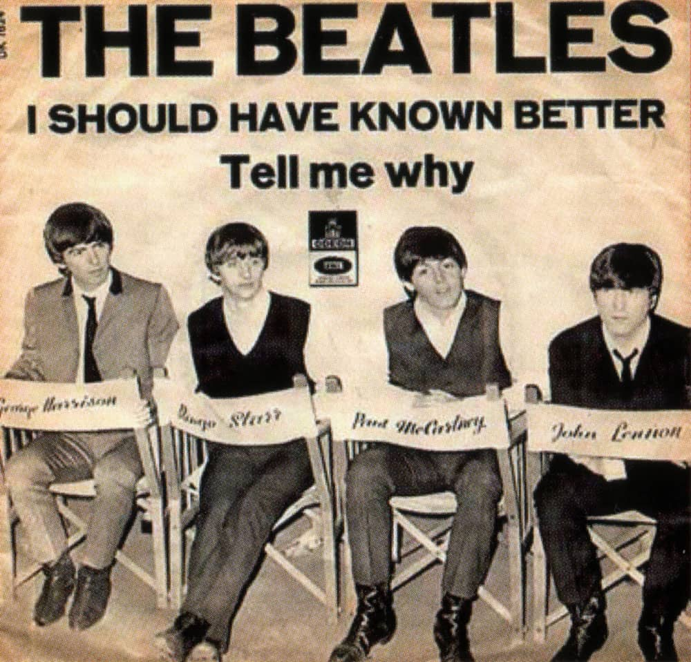 Beatles I Should Have Known Better And I Love Her