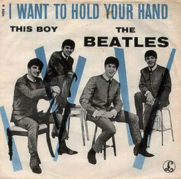 I Want To Hold Your Hand single artwork - Denmark, Norway