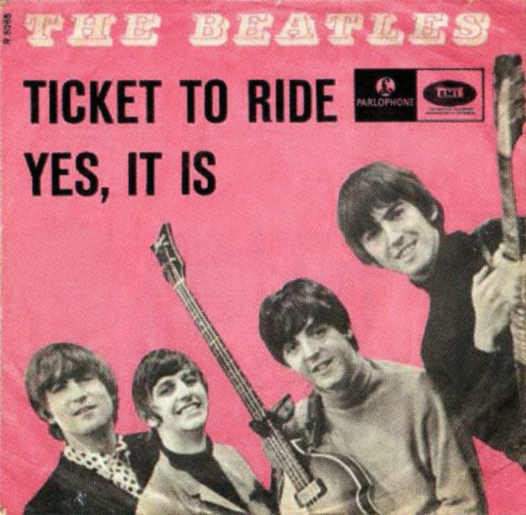 Ticket To Ride single artwork - Denmark