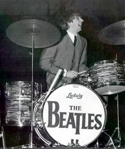 The Beatles' Drop-T logo, number two