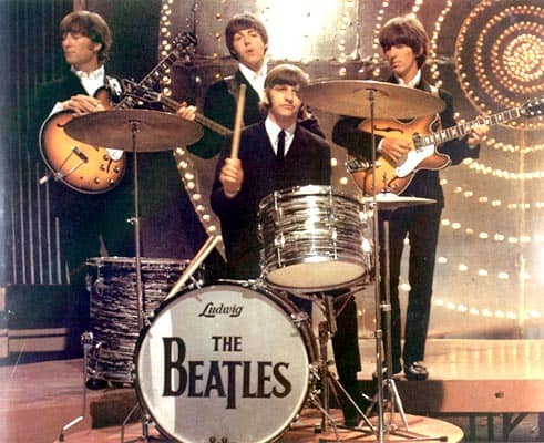 The Beatles' Drop-T logo, number six