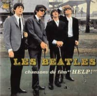 "Chansons Du Film ""Help!"" EP artwork - France"