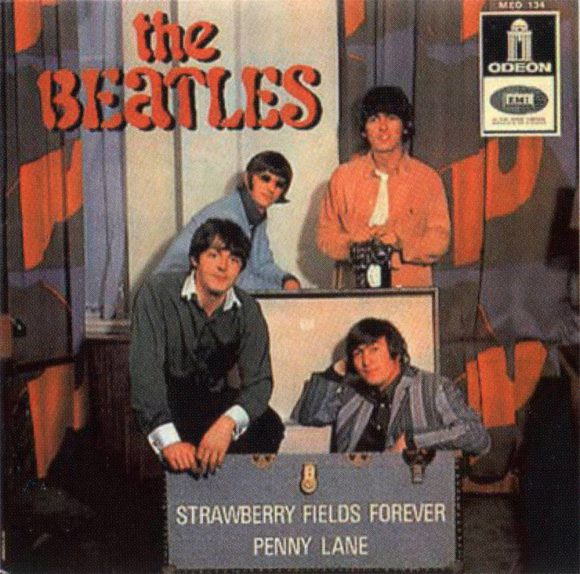 Strawberry Fields Forever EP - France, Portugal
