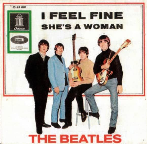 I Feel Fine single artwork - Germany