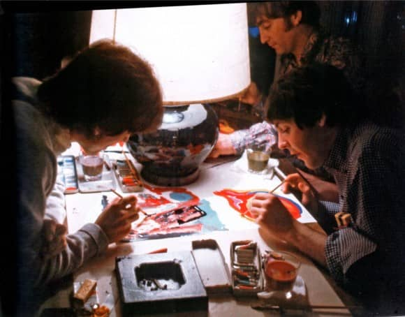 The Beatles painting Images Of A Woman, Tokyo, 1966