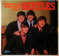 Please Please Me album artwork - Japan