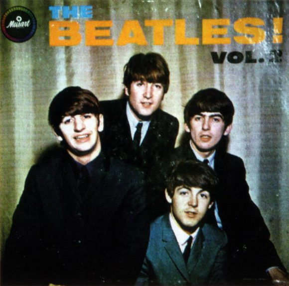 The Beatles Vol. 2 album artwork - Mexico