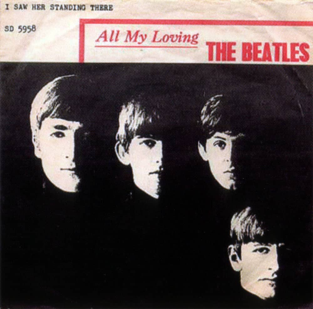 letra the beatles all my loving: