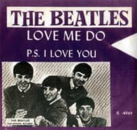 Love Me Do single artwork - Norway