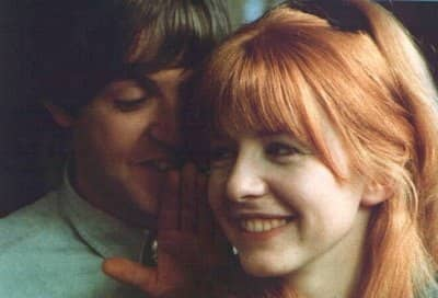 Paul McCartney and Jane Asher