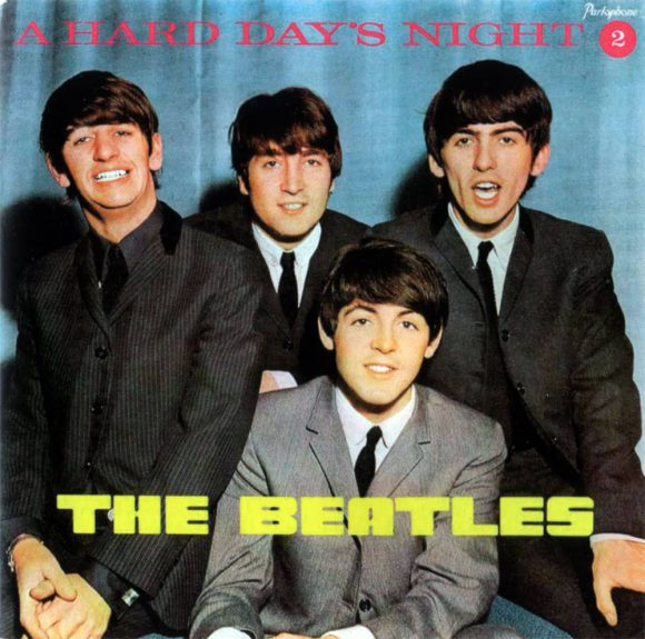 A Hard Day's Night 2 EP artwork - Portugal