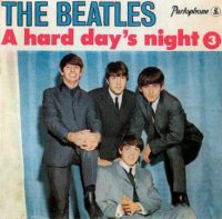 A Hard Day's Night 3 EP artwork - Portugal