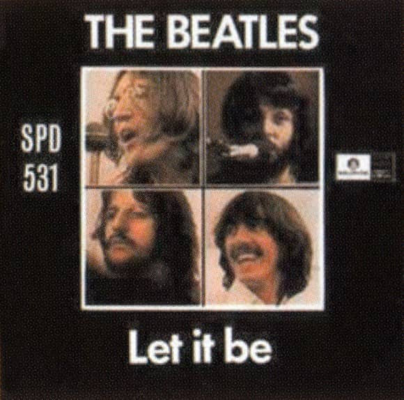 Let It Be single artwork - South Africa