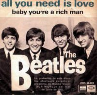 All You Need Is Love single artwork - Spain
