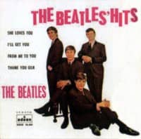 The Beatles' Hits EP artwork - Spain