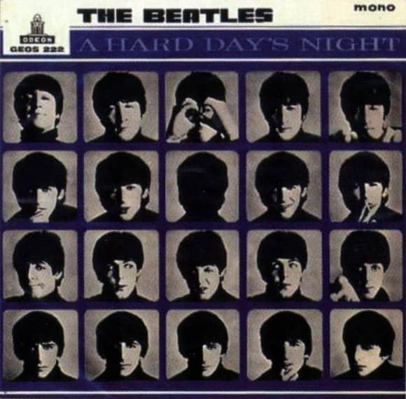 A Hard Day's Night EP artwork - Sweden