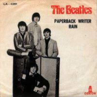 Paperback Writer single sleeve - Turkey