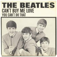 Can't Buy Me Love single artwork - USA