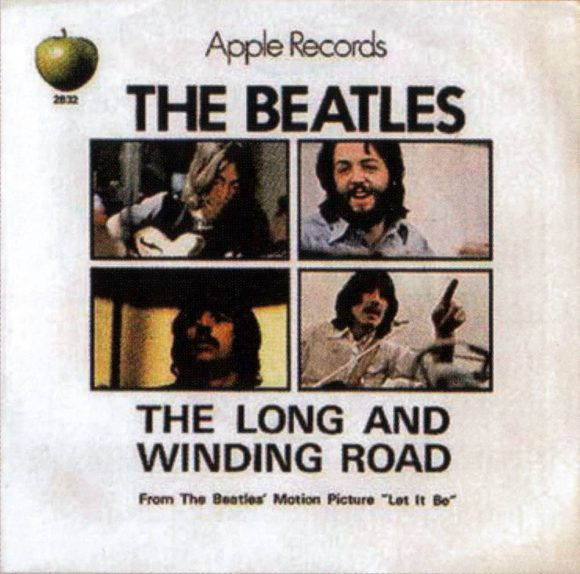 The Long And Winding Road single artwork - USA