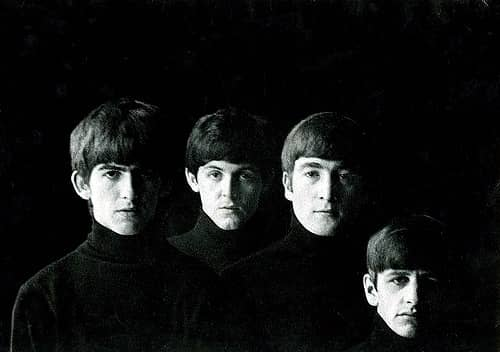 With The Beatles outtake by Robert Freeman