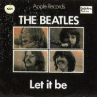 Let It Be single artwork - Yugoslavia