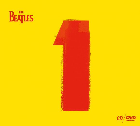 The Beatles - 1 CD/DVD edition artwork (2015)