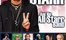 Poster for Ringo Starr's concert in Flensburg, Germany, 9 June 2018
