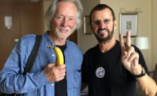Ringo Starr and Klaus Voormann in Hamburg, Germany, 11 June 2018