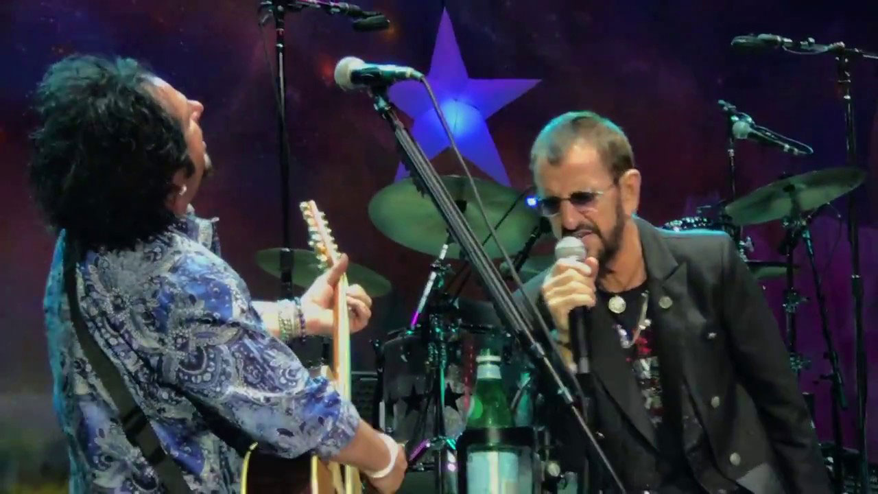 ringo starr live in rome italy 11 july 2018 the beatles bible. Black Bedroom Furniture Sets. Home Design Ideas