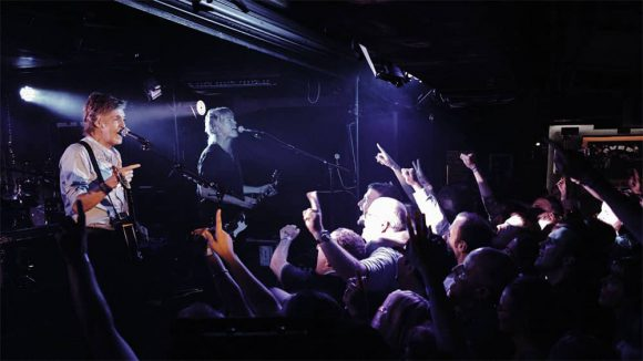 Paul McCartney live at the Cavern Club, Liverpool, 26 July 2018