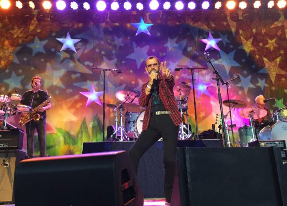 Ringo Starr live in Rogers, Arkansas, 2 September 2018