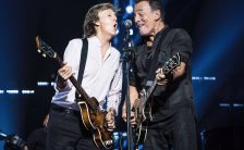 Paul McCartney and Bruce Springsteen live at Madison Square Garden, New York, 15 September 2017