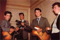 The Quarrymen and Dennis Littler, 8 March 1958
