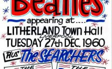 Poster for The Beatles at Litherland Town Hall, Liverpool, 27 December 1960