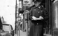 Chicago meter maid in the 1960s