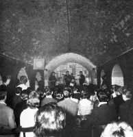 The Beatles at the Cavern Club, Liverpool, 1961