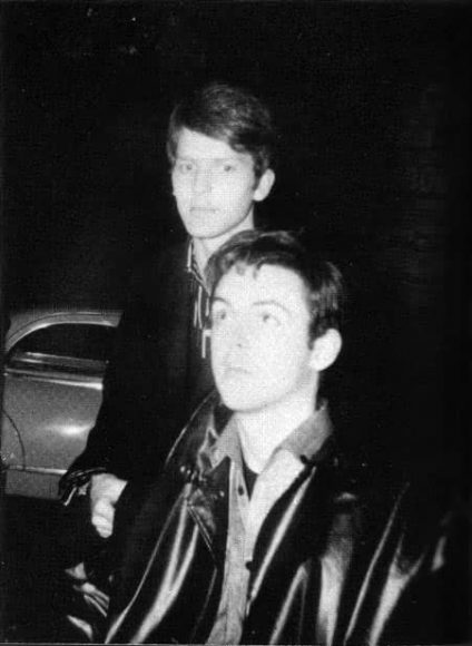 Paul McCartney and Jurgen Vollmer in Paris, September 1961
