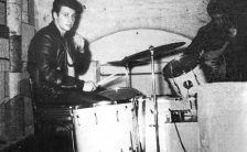 Pete Best at the Cavern Club, Liverpool, 1961
