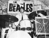 Paul McCartney at the Cavern Club, Liverpool, 5 April 1962