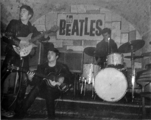 The Beatles at the Cavern Club, Liverpool, 5 April 1962