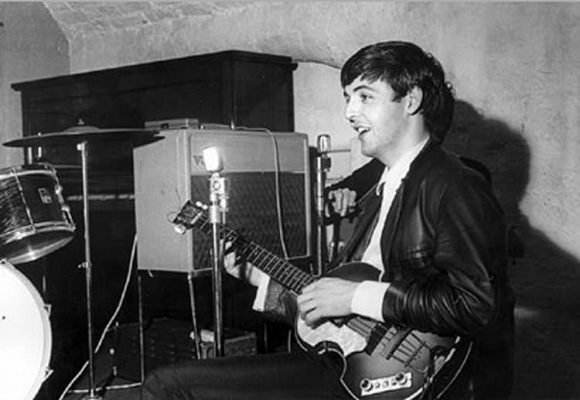 Paul McCartney, Cavern Club, Liverpool, 22 August 1962