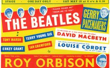 Poster for The Beatles and Roy Orbison at the Adelphi, Slough, 18 May 1963