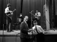 The Beatles with BBC presenter Brian Matthew, 21 May 1963