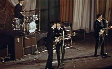 The Beatles live at the ABC Cinema, Manchester, 20 November 1963