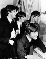 The Beatles at the Plaza Hotel, New York, 7 February 1964